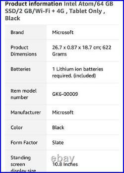 Microsoft Surface 3 + genuine Microsoft Docking Station & QWERTY Uk Keyboard
