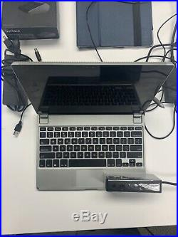Microsoft Surface Pro 4 12.3 128GB Silver + Pen Docking Station Brydge Keyboard