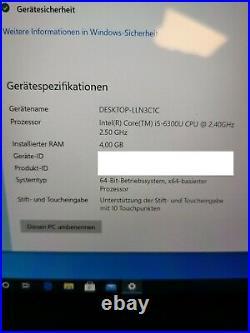 Microsoft Surface Pro 4 I5-6300 CPU 4 GB Type Cover blau Dockingstation HDMI USB