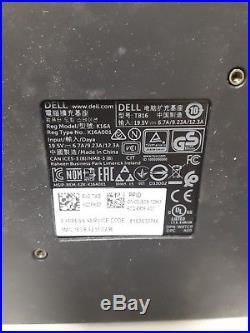 NEW Dell Dock 240W TB16 USB-C Thunderbolt Docking Station + AC Adapter