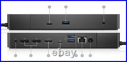 NEW Dell WD19 Docking Station 180W USB-C connect Display Port HDMI USB
