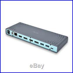 NEW! I-Tec Usb 3.0 / Usb-C 5K Universal Dual Display Docking Station 2X 4K 60Hz