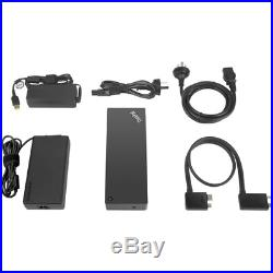 NEW LENOVO 40AN0170US Lenovo Docking Station for Notebook 170 W USB Type C 6 x