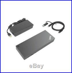 NEW LENOVO ThinkPad Hybrid USB-C with USB-A Docking Station 40AF0135US