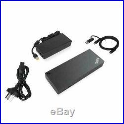 NEW! Lenovo 40AF0135UK Thinkpad Hybrid Usb-C With Usb-A Dock Docking Station USB
