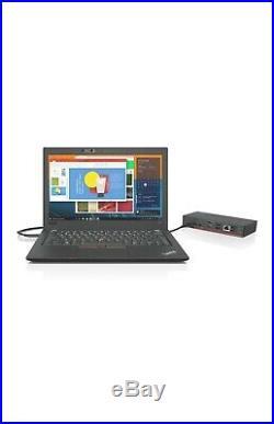 NEW Lenovo ThinkPad USB-C Dock Gen2 90W Laptop Docking Station P/N40AS0090US