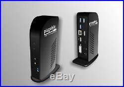 NEW Plugable USB-C TRIPLE DISPLAY Docking Station with USB Power Delivery NIB