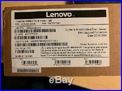 NEW SEALED 40AS0090US Lenovo THINKPAD USB-C GEN 2 Dock Station gen2 40A90090U3