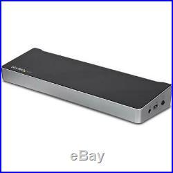 NEW! StarTech. Com USB3DDOCKFT Dual-Monitor KVM USB 3.0 Docking Station