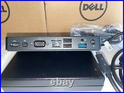 NEW sealed Dell WD15 Dock Station 4K 1080HD +180W Adapter 091K93 Mac USB-C