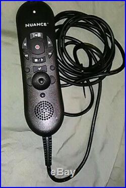 NUANCE PowerMic II USB Dictation Microphone, Dragon Naturally Speaking NOB