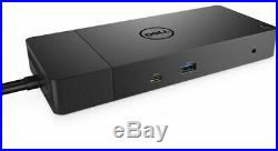 New Genuine Dell Wd19dc Dual Usb-c Dock Docking Station Dock Only 210-arje