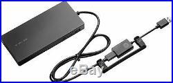 New HP ELITE USB-C DOCKING STATION G2 4x USB Type-A Display Port HDMI X7W54UT