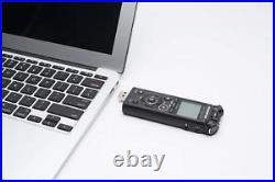 New OLYMPUS Linear PCM recorder LS-P4 black Bluetooth 39H 8GB Hi-res