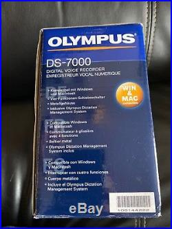 New Olympus DS-7000 Digital Voice Recorder