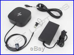 New Retail HP Elite Dragonfly USB-C / USB 3.0 Docking Station with 4K UHD Output