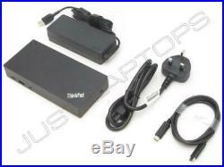New Retail Lenovo ThinkPad T490 20N2 20N3 USB-C Docking Station Port Replicator