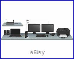 New Startech. Com Dual Monitor Usb 3.0 Docking Station With Hdmi Dvi 6 X Usb
