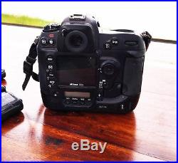 Nikon D2xs Dslr Camera + 50mm F1.8 Lens + Nikon 80d Flash + 3 Batteries