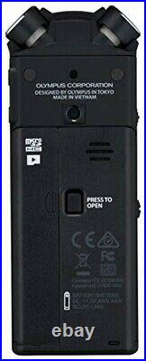 OLYMPUS Linear PCM recorder LS-P4 black Bluetooth 39H 8GB Hi-res