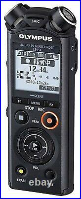 OLYNPUS Linear PCM recorder LS-P4 black BLK 8GB FLAC compatible high res NEW