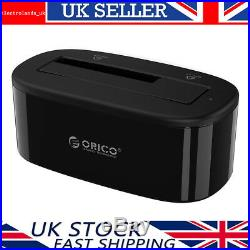 ORICO 2.5/3.5 USB 3.0 SATA HDD/SSD Hard Drive Docking Station with Power Adapter