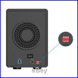 ORICO 5-Bay USB 3.0 Raid 3.5 SATA SSD HDD External Enclosure Case Dock Station