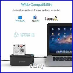 ORICO USB 3.0 3.5 / 2.5 Inch SATA lll SSD HDD Hard Drive Disk Docking Station