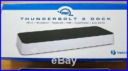 OWC Thunderbolt 2 Dock OVP Dockingstation Windows und Mac USB3.1 HDMI Firewire