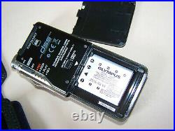 Olympus DS-7000 Voice Recorder WithCharging Cradle CR15, leather case