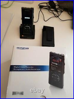 Olympus DS-9500 Voice Recorder Premium Kit, less than 2 weeks old, used twice