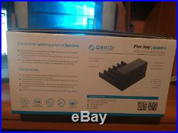 Orico 5 Bay Hard Drive Docking Station USB 3.0