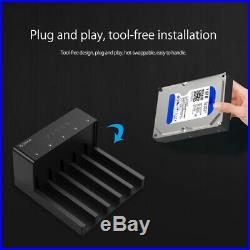 Orico 6558Us3-C 5 Bay Super Speed Usb 3.0 HDD Docking Station Tool Free Usb B6X3