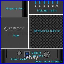 Orico DS500U3 USB3.0 5-Bay 3.5inch Hard Drive Enclosure HDD SSD Docking Station