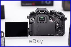 Panasonic GH4 4K Kit GVario 14-140mm 3.5-5.6f, Metabones EF-M43 S, 4 Batteries