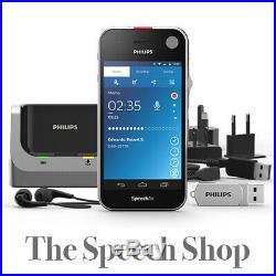 Philips PSP2200 SpeechAir Smart Voice Recorder Inc SpeechExec Pro Dictate