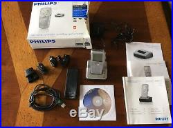 Philips Pocket Memo LFH9600 Handheld Digital Voice Recorder LFH9120 Dock BONUS