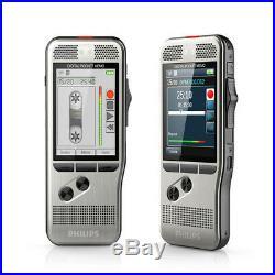 Philips Silver Digital Pocket Memo 6000 Voice Recorder DPM6000