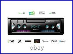 Pioneer SPH-20DAB 1 DIN Smartphone Radio DAB Set für Audi A1 ab 2010 Canbus