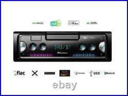 Pioneer SPH-20DAB 1 DIN Smartphone Radio DAB Set für BMW Z4 2003-2008 anthrazit