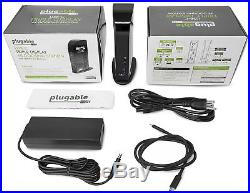 Plugable USB-C 4K Triple Display Docking Station with Charging Support