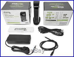 Plugable USB-C 4K Triple Display Docking Station with PD Charging UD-ULTC4K