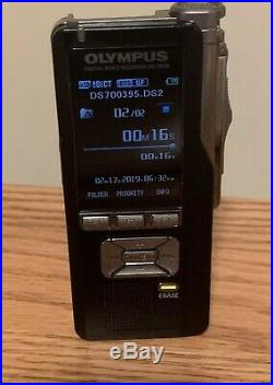 Pre-owned Olympus Digital Voice Recorder Ds-7000 Fully Functional Retail $400
