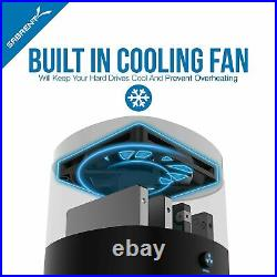 Sabrent USB 3.0 4 Bay 2.5 Hard drive/SSD Docking Station with Fan (DS-4SSD)