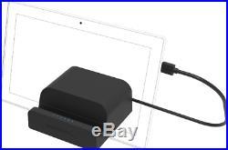 Sabrent USB 3.0 Universal Docking Station Stand Tablets Laptops Windows DS-RICA