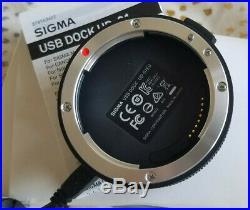 Sigma 150-600mm f/5-6.3 DG OS HSM C + 1.4 TC + USB Docking Station Canon EF