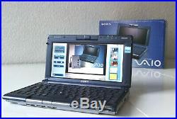 Sony Vaio PCG-C1MZX Laptop Brenner Notebook Rare Docking Station Rarität Sammler