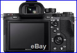 Sony a7R II Full-Frame Mirrorless Interchangeable Lens Camera Body Only