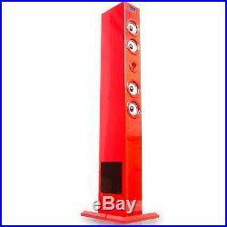 Sound Musik Tower Lautsprecher Dockingstation iPod iPhone Fernbedienung USB Turm