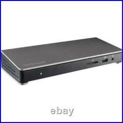 StarTech. Com Thunderbolt 3 Dock with SD Card Reader Dual-4K 85W USB Power